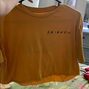 Tops - friends crop top from tillys